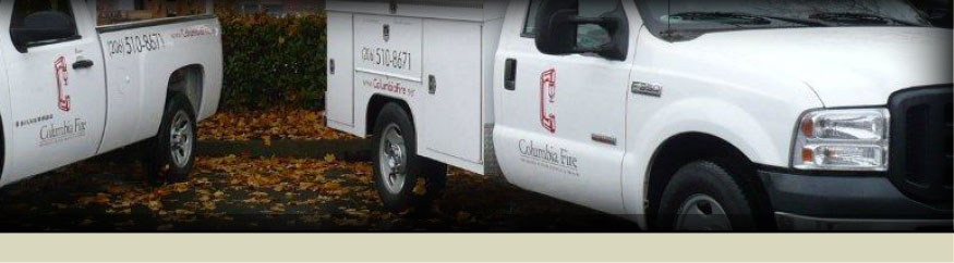 Columbia Fire Services - Fire Protection, Fire Alarm, Confidence Testing, Sprinkler System Service & Repair Seattle, WA